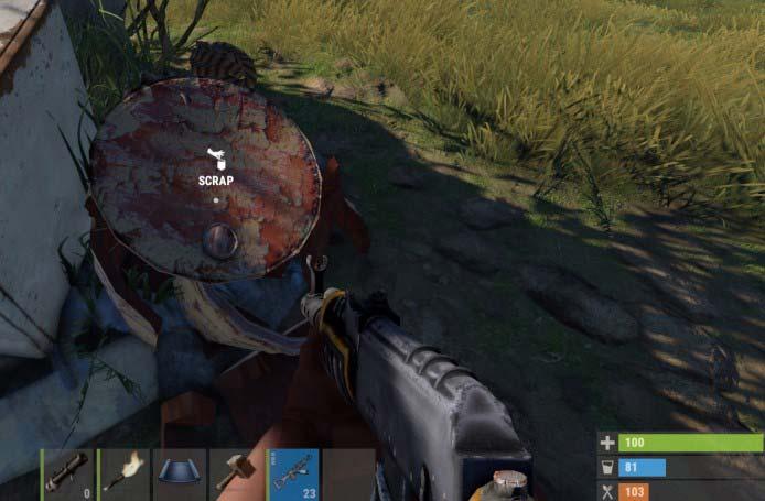rust оружие
